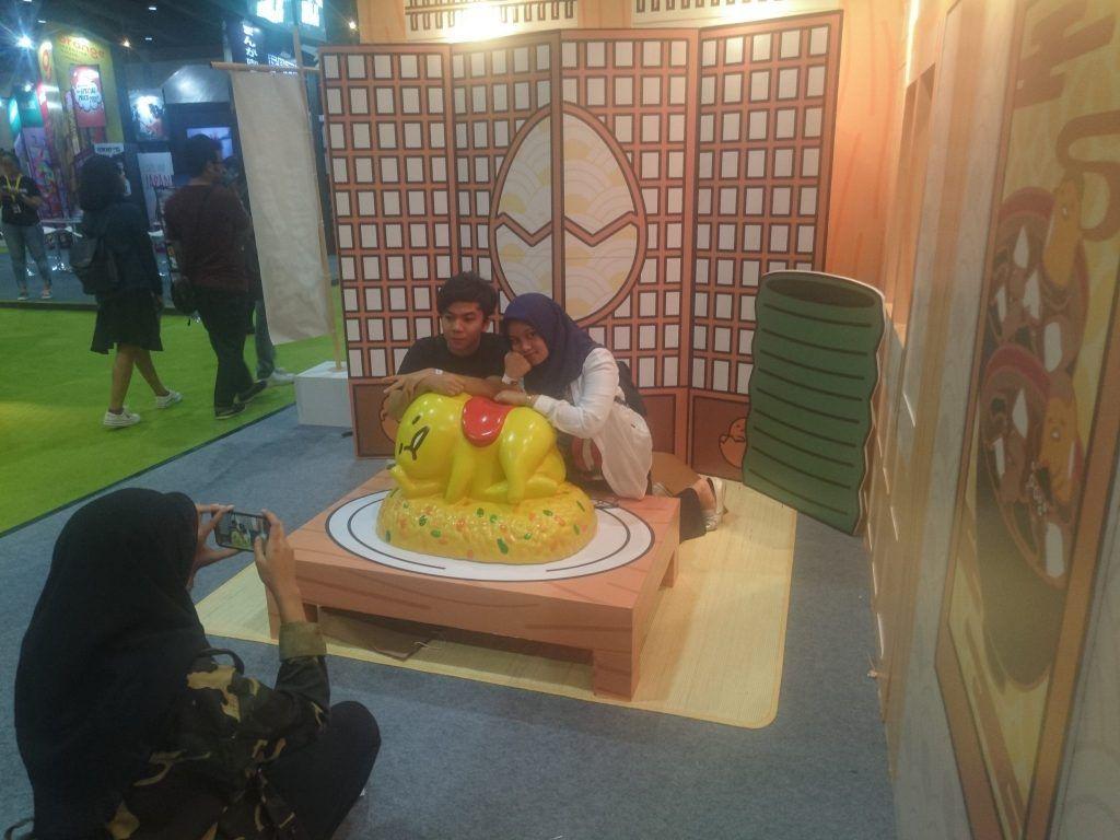 Gudetama hadir di Indonesia Comic Con 2017