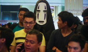 Cosplayer No Face