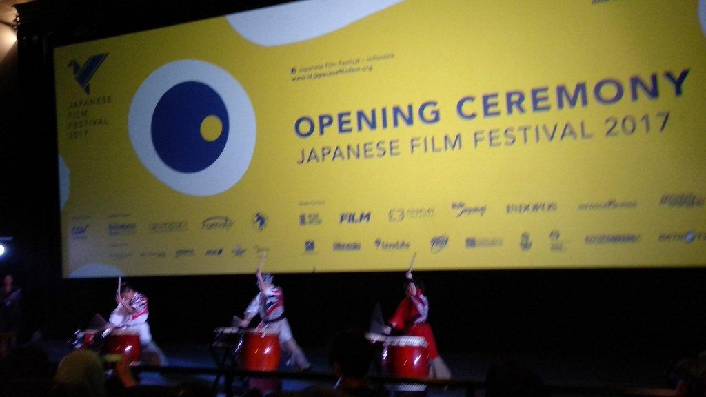 Jakarta Taiko Club di Japanese Film Festival 2017