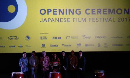Opening Ceremony Japanese Film Festival 2017