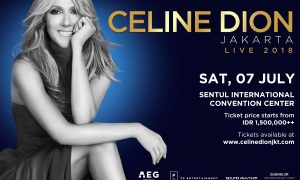 Celine Dion Live 2018 in Indonesia