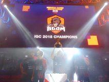 BOOM ID juara di Indonesia Game Championship 2018
