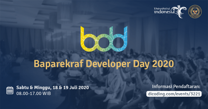 Baparekraf Developer Day 2020